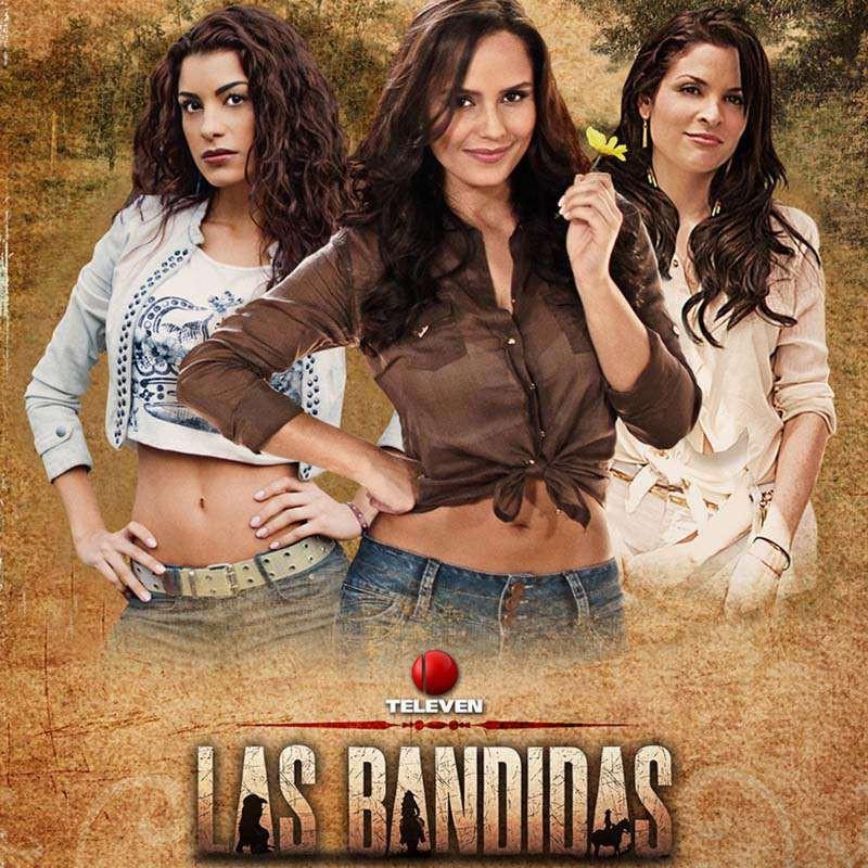 Compra la Telenovela: Las Bandidas completo en DVD.