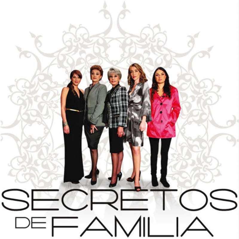 Compra la Telenovela: Secretos de familia completo en DVD.