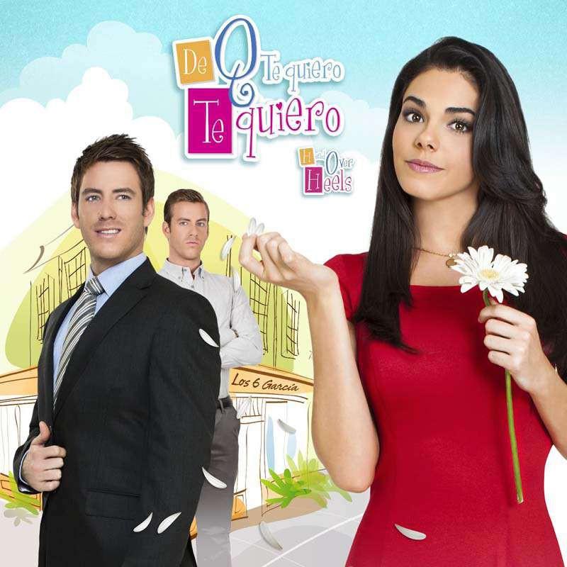 Compra la Telenovela: De que te quiero, te quiero completo en DVD.