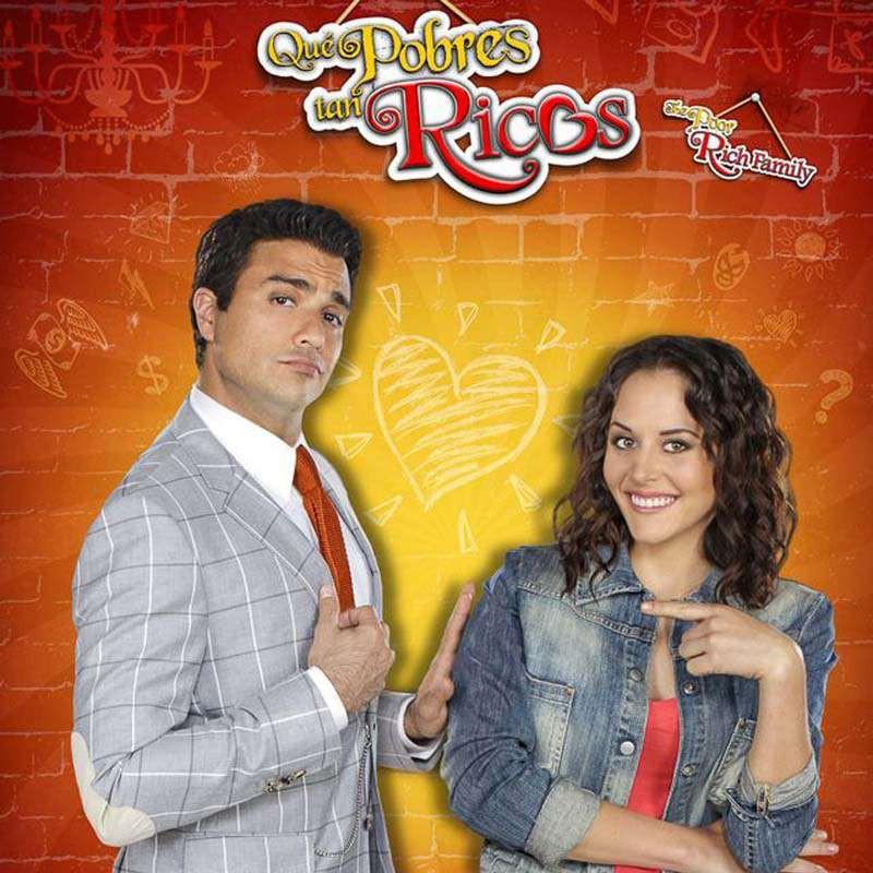 Compra la Telenovela: Qué pobres tan ricos completo en DVD.